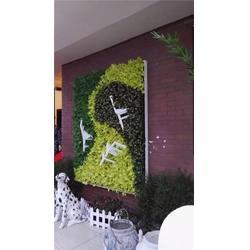 餐饮仿真植物墙|南京艺无止境|仿真绿植图片
