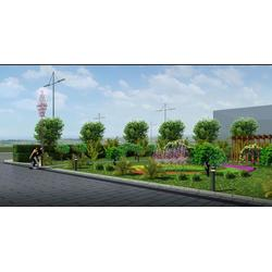 道路园林绿化工程,龙胜物业,江岸园林绿化工程图片