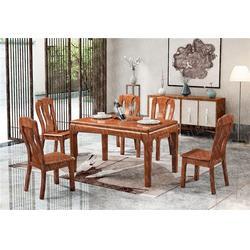 欧式餐桌实木餐桌厂图片