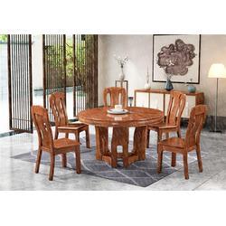 家用实木餐桌品牌代理企业图片