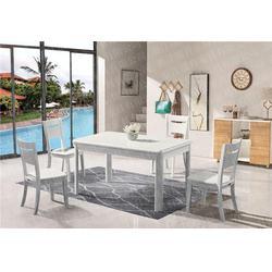 中式抽拉台餐桌品牌_泉州抽拉台餐桌_瑞升餐桌椅厂家直销图片