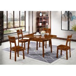 福州美式拉台餐桌定制-瑞升家具图片