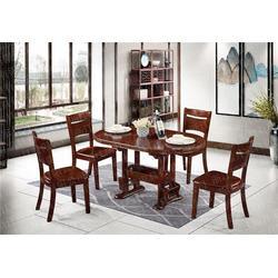 美式实木餐桌_瑞升餐桌椅款式齐全_实木餐桌图片
