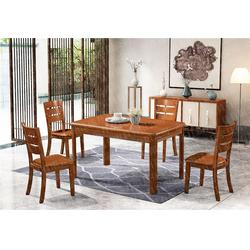 家用实木圆桌品牌加盟企业图片
