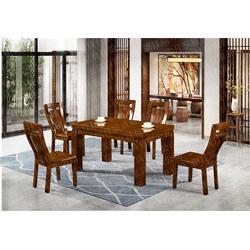 福建中式三合一餐桌定制-瑞升家具图片