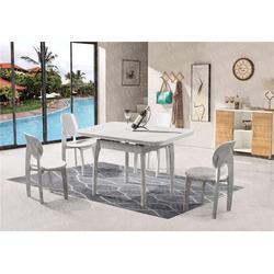 中式拉台餐桌-瑞升餐桌椅厂家直销-陕西拉台餐桌图片
