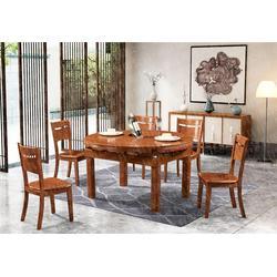 抽拉台餐桌-瑞升餐桌椅款式齐全-中式抽拉台餐桌品牌排行图片