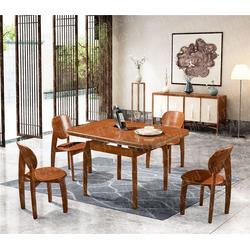 实木餐桌椅知名品牌公司图片