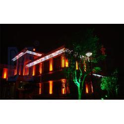 led楼体亮化工程公司|太原欣美照明(在线咨询)|楼体亮化图片