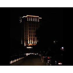 楼体亮化|太原欣美照明|山西楼体亮化照明图片