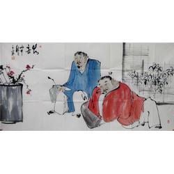 国画名家山水-字画-镇江集古斋(查看)图片