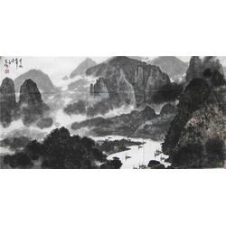 盐城山水字画|镇江集古斋 |山水人物字画图片