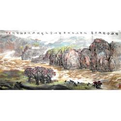 国画、  镇江集古斋、客厅山水画国画图片