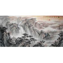 人物山水字画|山水字画|  镇江集古斋图片