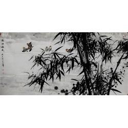 镇江集古斋,客厅花鸟字画,花鸟字画图片