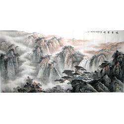 山水字画|扬州山水字画|镇江集古斋 (查看)图片