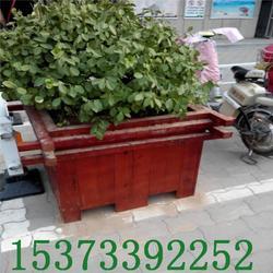 花盆花箱厂家户外种植花盆实木防腐木花箱图片