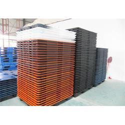 南通塑料栈板 双面平板网格塑胶栈板 哪种塑料栈板经济耐用图片