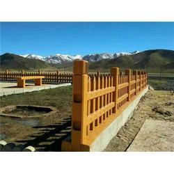 池州仿木护栏、哥特建材、仿木护栏图片