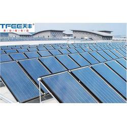 天丰太阳能,天坛街道太阳能热水,太阳能集热工程图片