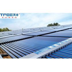 涧西区太阳能热水|天丰太阳能|太阳能热水工程联箱图片
