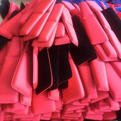 EVA垫片 高发泡eva热压制品 pe材料复合布料热压成型图片