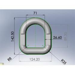 原色强力D型环|布林瑞特|强力D型环图片