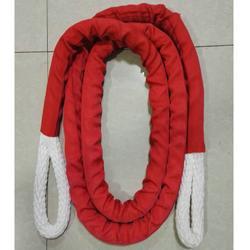 带护套锦纶绳-防腐、防割,起重、吊装,耐久、耐磨图片