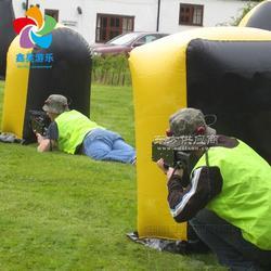 户外运动娱乐 充气射击掩体障碍趣味场地真人竞技充气CS模拟射击户外运动娱乐 充气射击掩体障碍 趣图片
