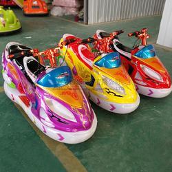 儿童音乐玩具车广场急速飞艇车双人亲子电动车小孩遥控车图片