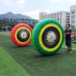 体能训练户外拓展器材充气轮胎学校趣味运动会体育比赛道具图片