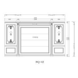 背景墙-盛京品尚(在线咨询)锦州背景墙图片