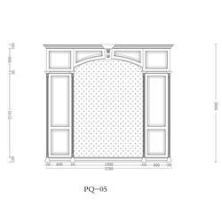 背景墙设计图、盛京品尚(用心服务)、鄂尔多斯背景墙图片