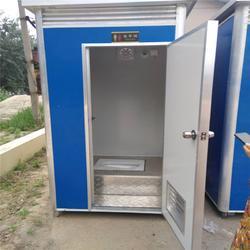 景区流动厕所工地彩钢板简易厕所单体临时卫生间图片