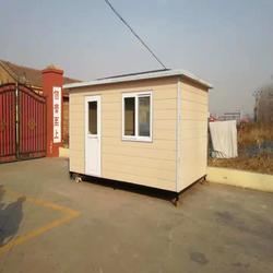 移动岗亭-小区门卫值班室-环卫垃圾房-活动房图片