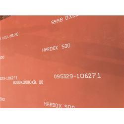 淄博进口耐磨板-兴邦华泰-NM500耐磨钢板哪里低图片