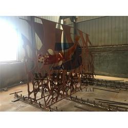广州锈板_雕塑锈板造型加工_兴邦华泰图片