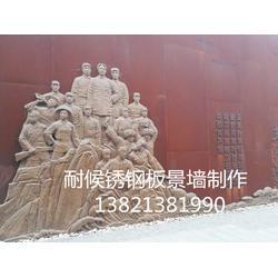 雕塑锈板厂图片