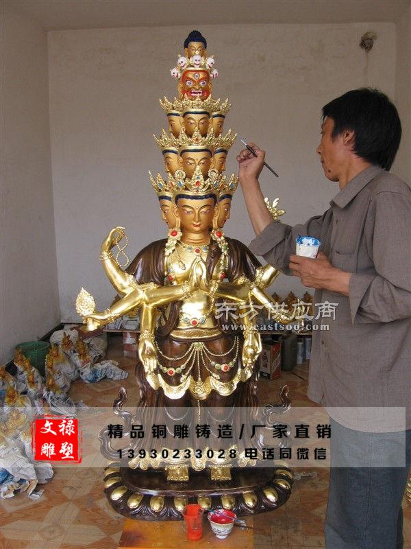 湖南铜佛像厂家图片