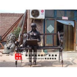 人物铜雕-文禄工艺品-广场人物铜雕图片