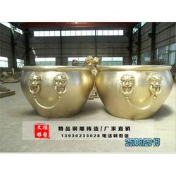 铜缸、铜缸铸造、文禄雕塑(优质商家)图片