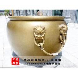 铸铜缸厂家|河北铸铜缸|文禄雕塑图片