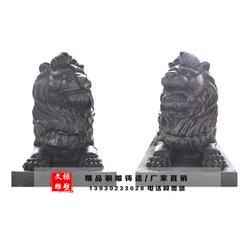 汇丰铜狮子,邯郸铜狮子,文禄雕塑(查看)图片