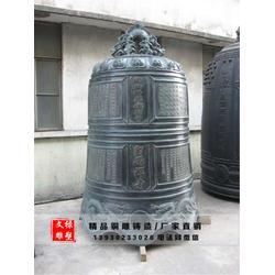 安徽铜钟雕塑-大型铜钟雕塑-文禄雕塑图片