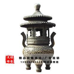 铜香炉制作厂家、铜香炉、文禄雕塑(查看)图片