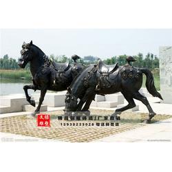 文禄雕塑厂-八骏马铜雕塑-日照八骏马雕塑图片