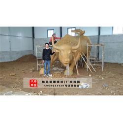 哈尔滨开荒牛雕塑-文禄雕塑厂-开荒牛雕塑图片