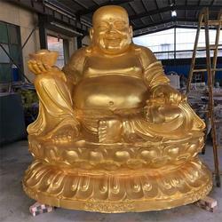 铸铜弥勒佛像 呼和浩特弥勒佛铜雕 文禄雕塑厂
