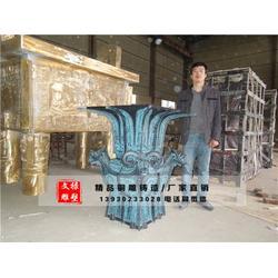 小铜鼎-文禄铜雕厂-昆明铜鼎图片