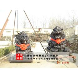 云南铜狮子 文禄雕塑厂 铜狮子定做